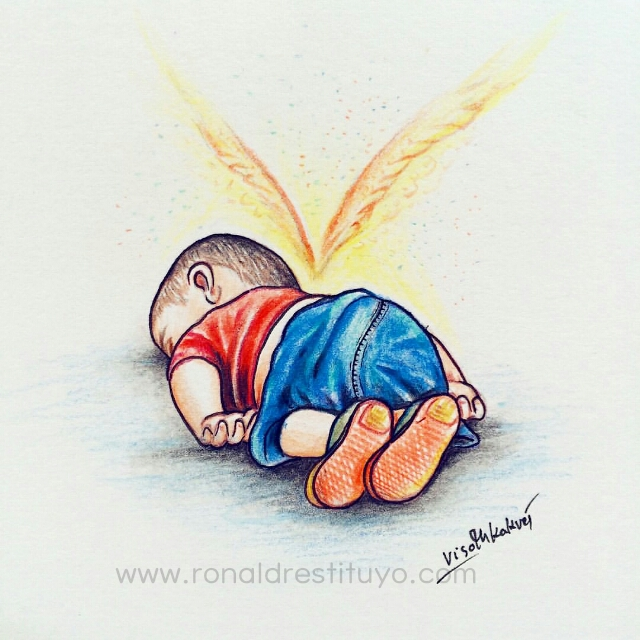RIP Aylan Kurdi Drawing