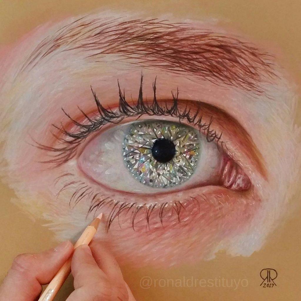 Caption this! Finally done! Diamond Eye Hope you guys likehellip
