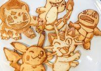 Pokemon Go on Pancake Art