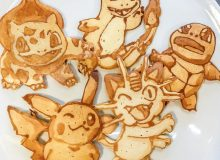 Pokemon Go on Pancake Art