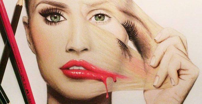 Amazing artworks by Tanja Labudovic